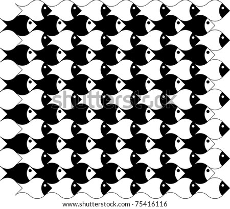 Abstract Pattern Vectors Vector Fish Abstract Pattern