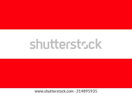 vector flag of Austria