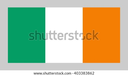 vector flag of ireland
