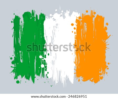 vector flag of ireland eu