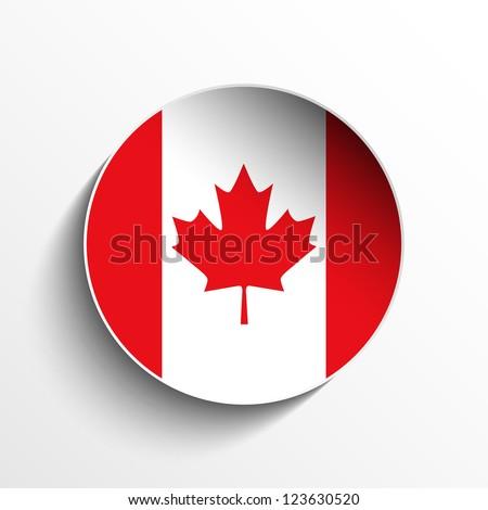 vector   flag paper circle