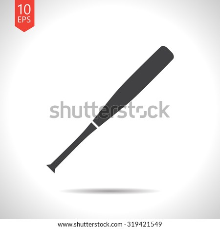 stock-vector-vector-flat-black-baseball-bat-icon-on-white-background