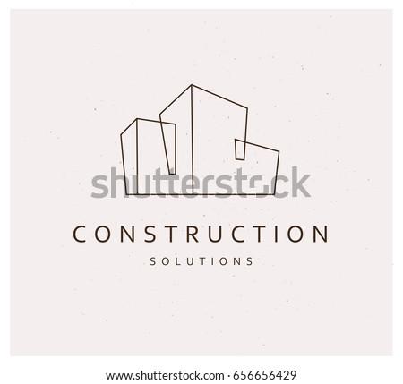 vector flat construction...