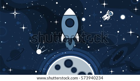 vector flat cosmos design