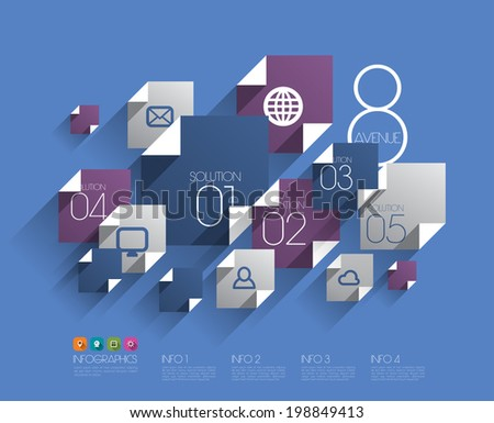 vector flat graphic design