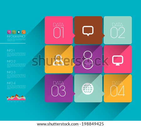 vector flat graphic design