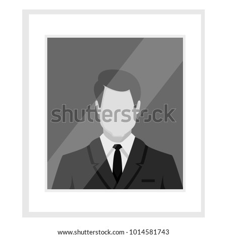 vector flat grayscale