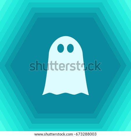 vector flat halloween icon