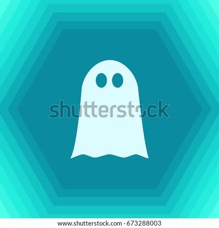 vector flat halloween icon