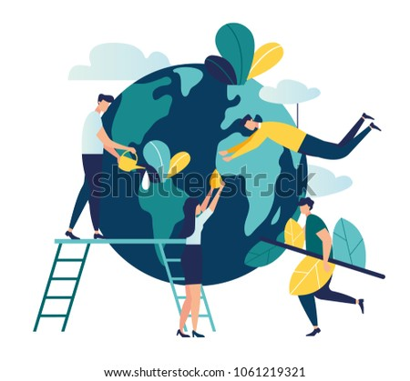 vector flat illustration