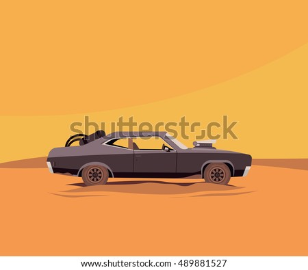 vector flat illustration of a