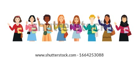 vector flat illustration of