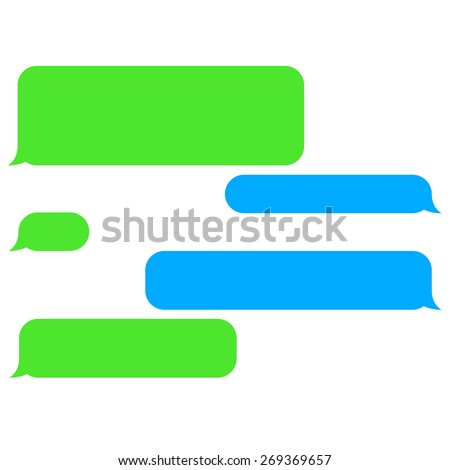vector images illustrations and cliparts vector flat phone chat