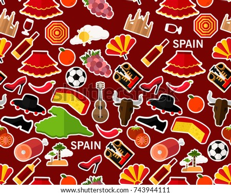 Spanish Fan Pattern Download Free Vector Art Stock Graphics Images Mesmerizing Spanish Patterns