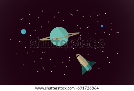 vector flat space design