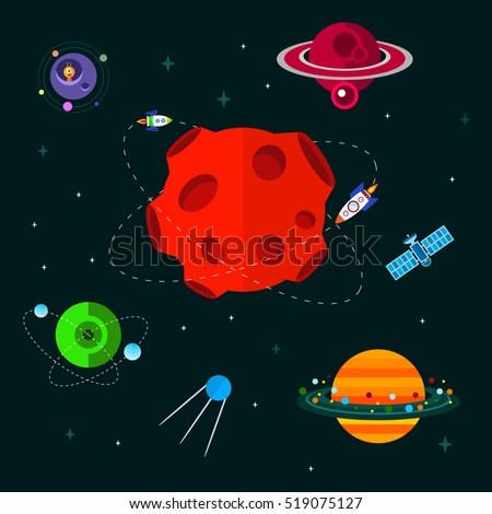 vector flat space elements with