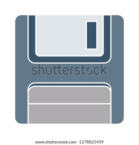 vector floppy disk drive-computer sign-storage data illustration-disc vector-diskette isolated