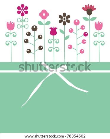 vector floral backgrounds design