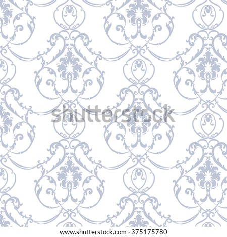 vector floral damask ornament