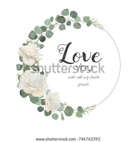 vector floral design card