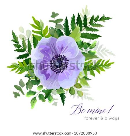 vector floral elegant botanical