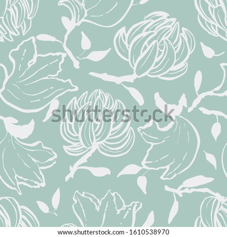 vector floral hand drawn