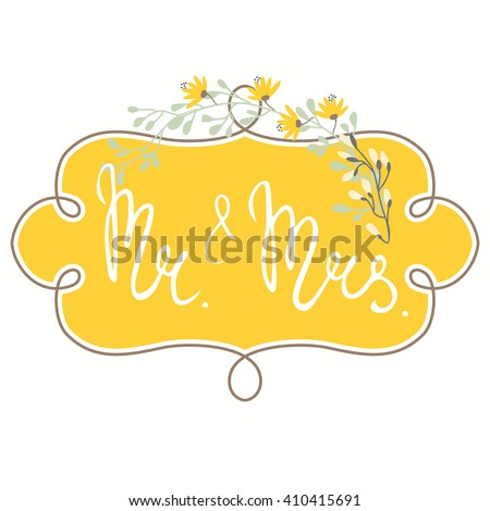 vector floral template for