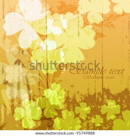vector floral vintage