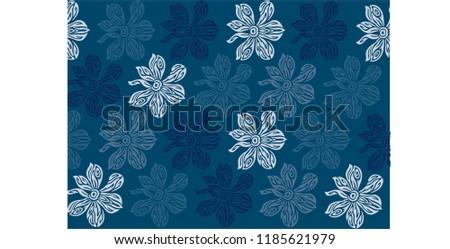 vector floral wallpaper background, floral vector, floral seamless background