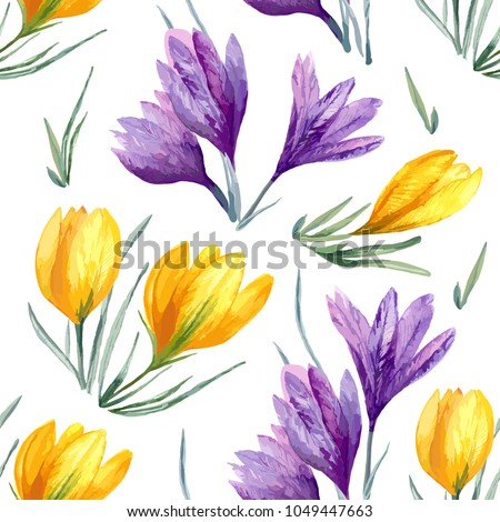 vector floral watercolor