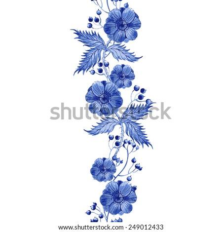 vector floral watercolor