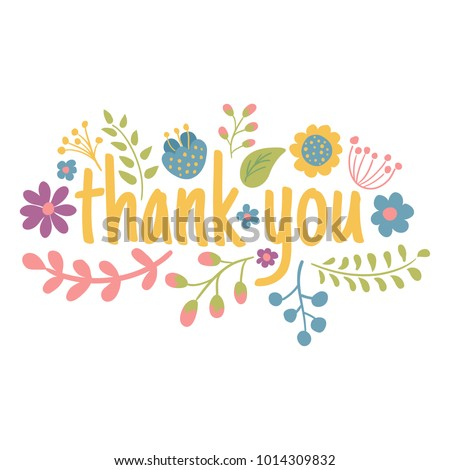 stock-vector-vector-flower-arrangement-thank-you-text-isolated-background