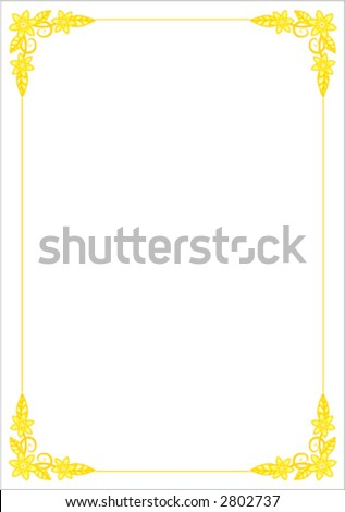 floral border clipart. flower clip art borders. clip