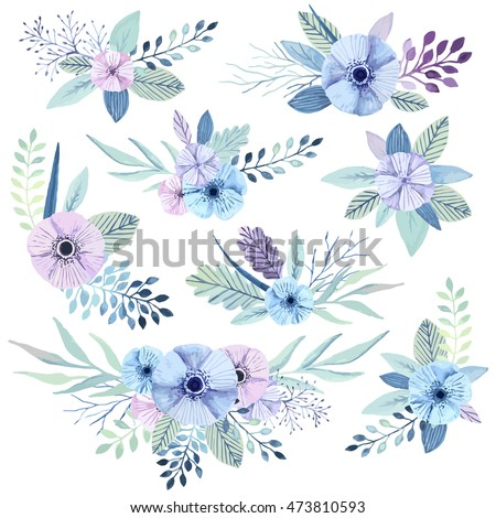 vector flower bouquets