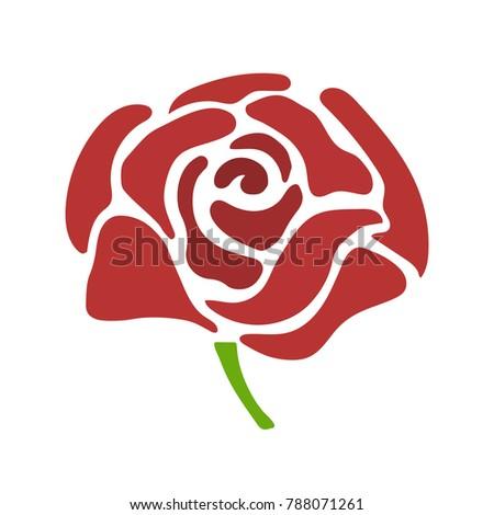 vector flower rose