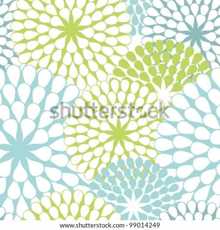 Vector Flower (Seamless Pattern)