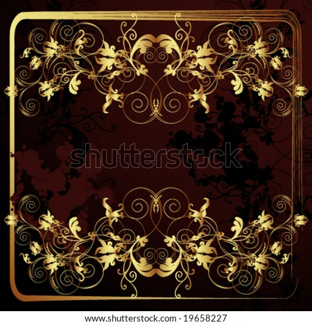 wallpaper vector flower. stock vector : Vector Flower