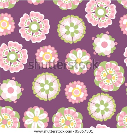 vector flowers ornament
