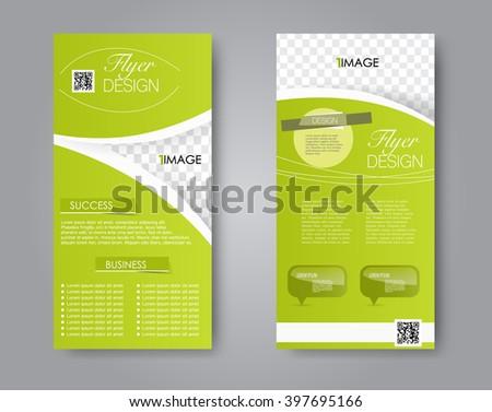 vector flyer and leaflet design