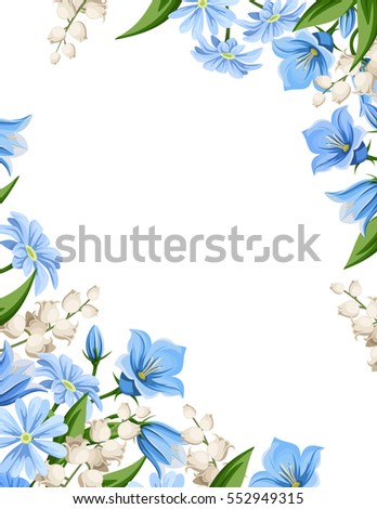 vector flyer background with