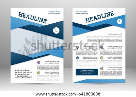 Vector flyer template layout design for business brochure poster vector flyer template layout design for business brochure poster annual report leaflet wajeb Images