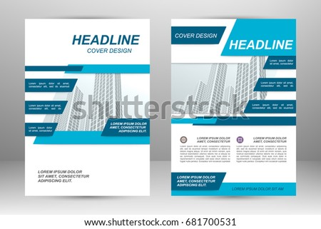 Vector flyer template layout design for business brochure poster vector flyer template layout design for business brochure poster annual report leaflet accmission Choice Image