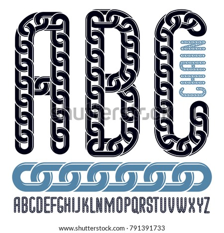 vector font  trendy typescript