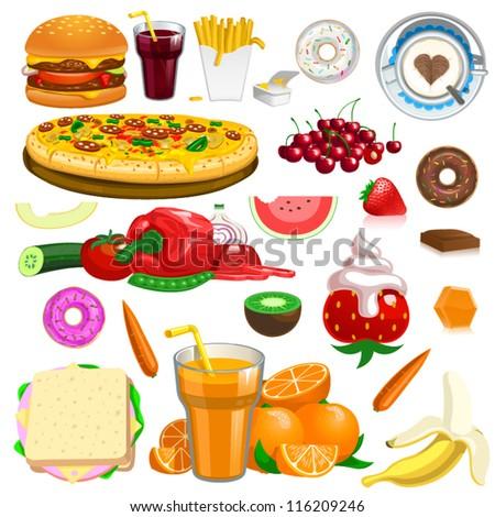 vector food