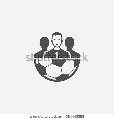 vector football team icon