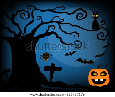 vector for celebrate halloween