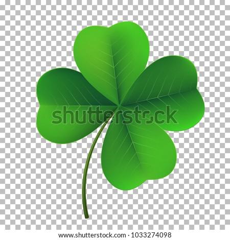 vector four leaf shamrock