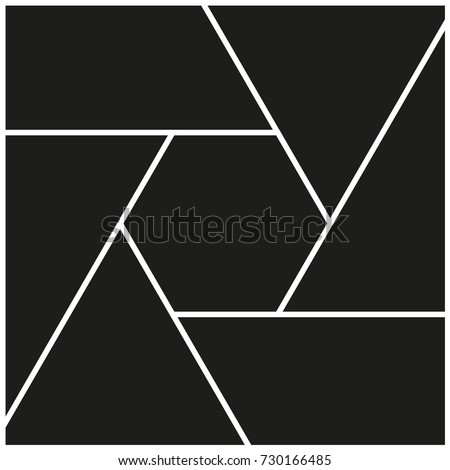 Vector frames for pictures, photo collage
