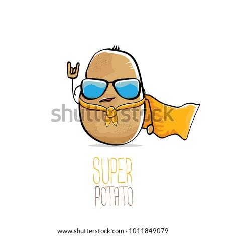vector funny cartoon cute brown