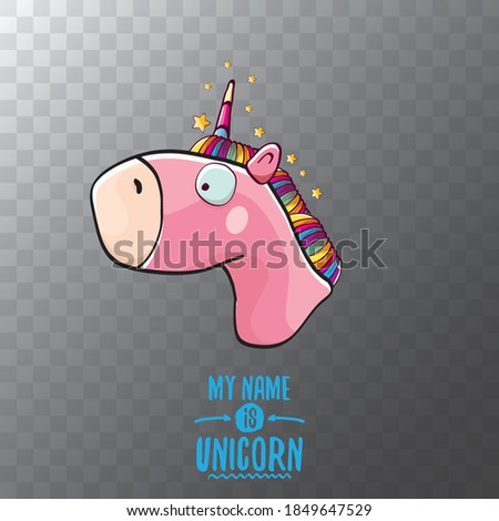 vector funny cartoon cute pink